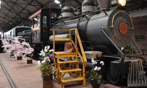 Detalles de las fotos del Día de la Madre en el Museo del Ferrocarril