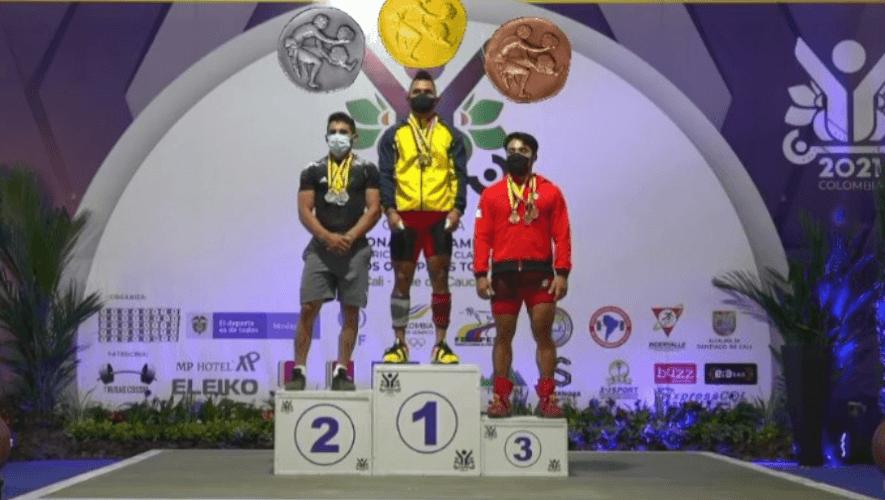 Edgar Pineda ganó tres platas en el Open Clasificatorio & Campeonato Iberoamericano 2021