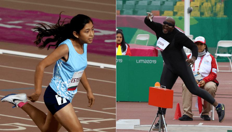 Ericka Esteban e Isaac Leiva, los primeros clasificados a Juegos Paralímpicos de Tokio 2020