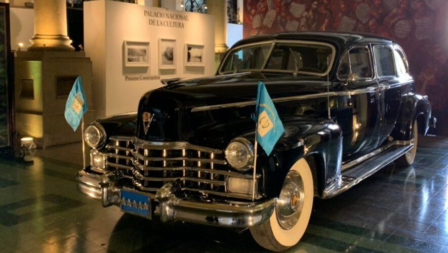 Exhibición gratuita del Cadillac Presidencial, en Ciudad de Guatemala   Mayo 2021