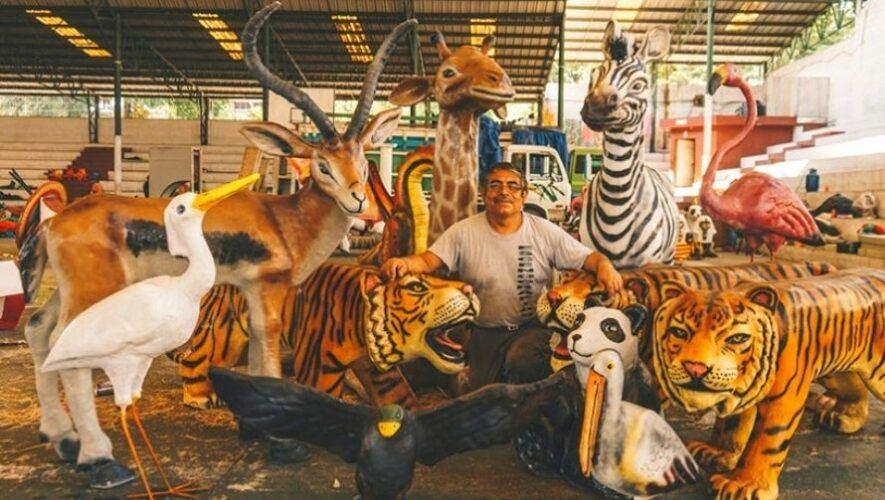 Exhibición en el primer Parque Temático en Alta Verapaz