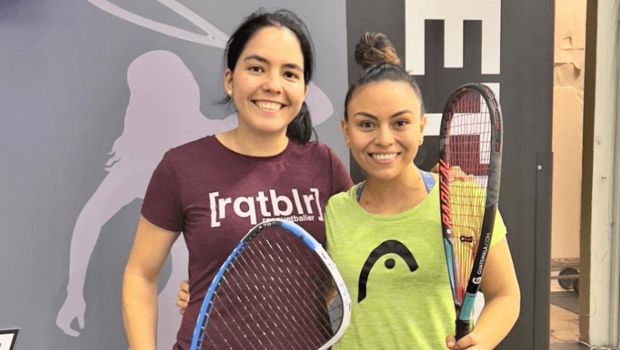 Gabriela Martínez y María Rodríguez quedaron terceras en el Sweet Caroline Open 2021
