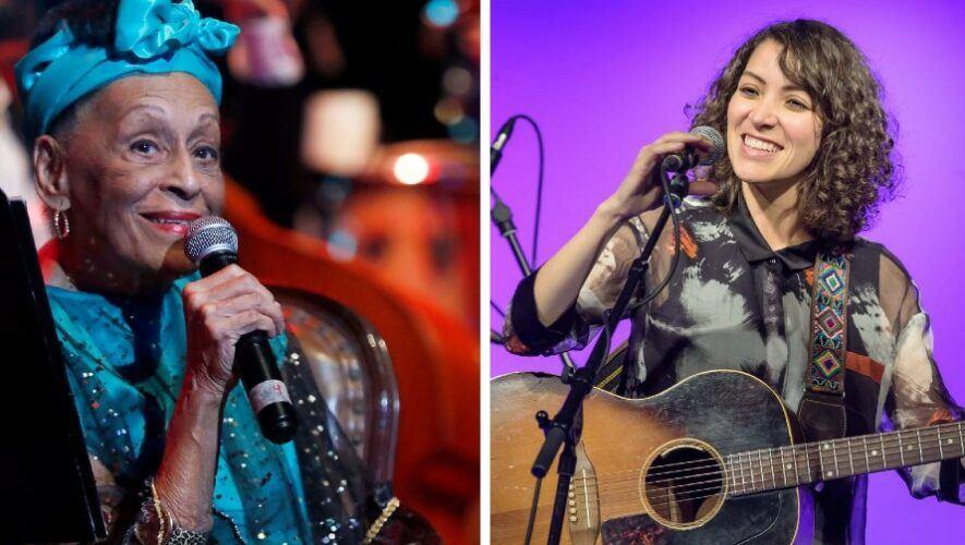 Gaby Moreno hizo colaboración musical con la premiada cantante cubana Omara Portuondo