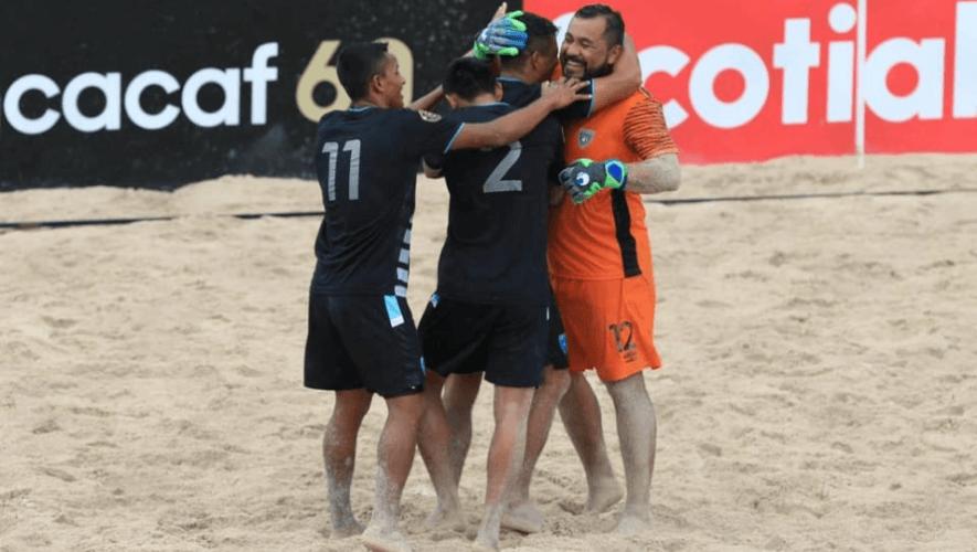 Guatemala ganó a México y terminó tercero del Premundial Concacaf de Playa 2021