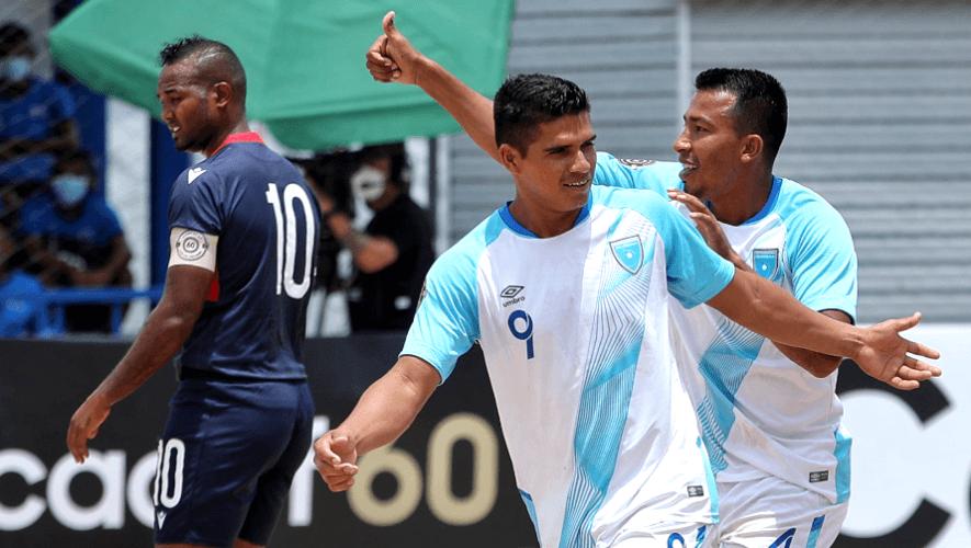 Guatemala goleó 10-1 a R. Dominica y clasificó a cuartos del Premundial Concacaf de Playa 2021