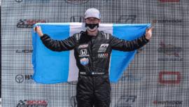Ian Rodríguez celebró doble podio en la fecha 2 del Campeonato Regional Americano F3 2021