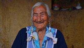 Indalecia Díaz, la huehueteca que es una de las más longevas de Chiantla