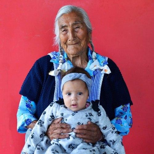 Indalecia Díaz una de las más longevas de Chiantla huehuetenango guatemala