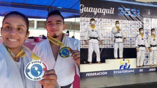 Jose Ramos y Jacqueline Solis ganaron medalla en Guayaquil Open Panamericano 2021
