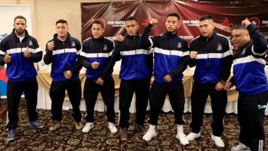 Luchadores guatemaltecos que competirán en el Campeonato Panamericano Senior 2021