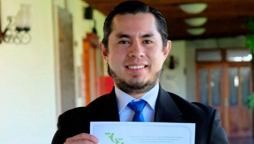 Ludwing Vásquez, maestro guatemalteco reconocido a nivel latinoamericano por la app MATexprésate