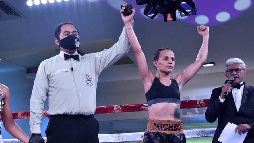 Maria Micheo peleará por el Campeonato Mundial Interino de la AMB, julio 2021