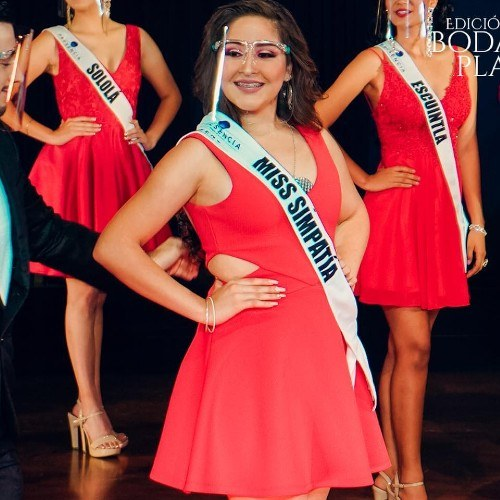 Miss Guatemala Latina 2021 Carmen Isabel Catalán Garzaro San José Pinula Miss Simpatía