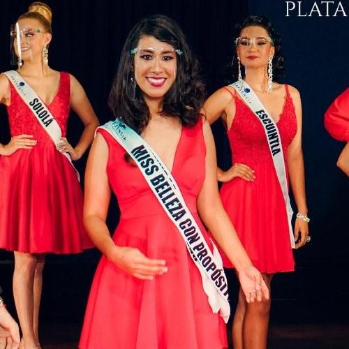 Miss Guatemala Latina 2021 Miss Belleza con Propósito Líana Georgina Santos Gómez Comunidad de sordos