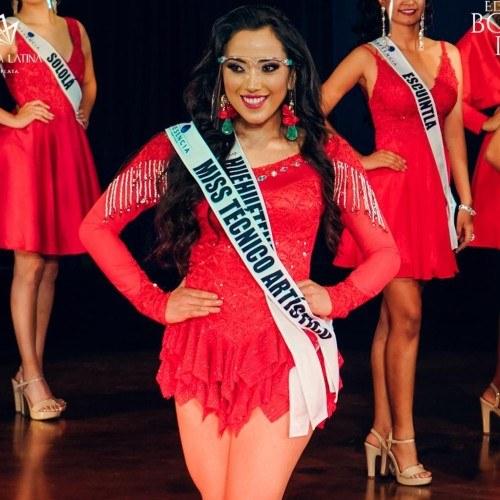 Miss Guatemala Latina 2021 Miss Técnico Artístico María Alejandra Mérida Valiente Huehuetenango