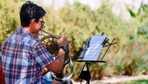 Música en vivo en un jardín al aire libre en la Ciudad de Guatemala | Mayo 2021