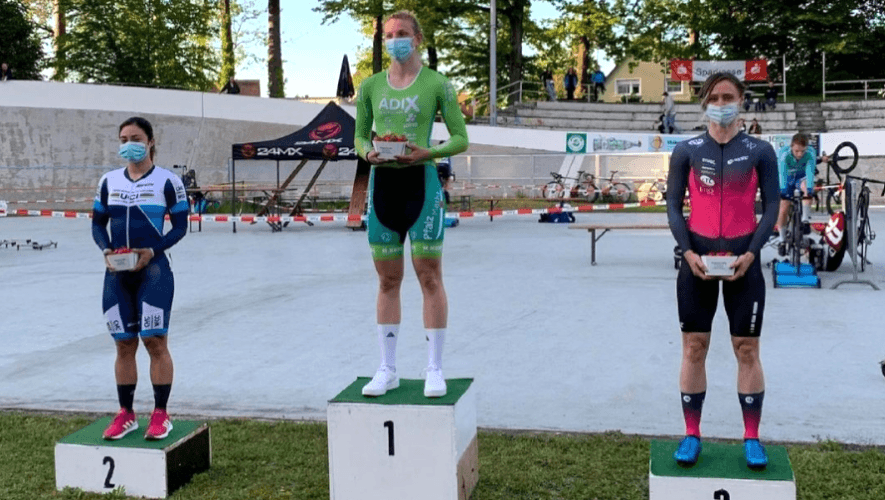 Nicole Hacohen ganó dos medallas en el GP 4 Bahnen-Tournee de Singen 2021 en Alemania