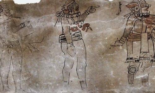 Nuevas interpretaciones de mural que es uno de los más grandes ymejor preservados del siglo IV y que está en Guatemala