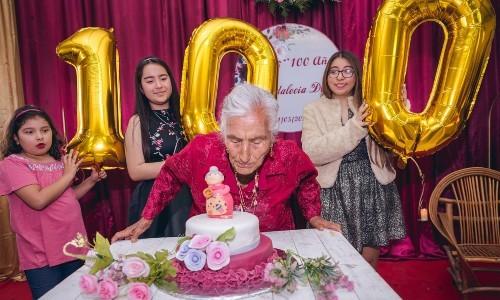 Originaria de Huehuetenango celebró sus 100 años de edad en chiantla