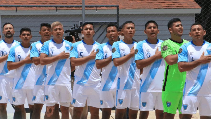 Partido Guatemala vs. Costa Rica, cuartos de final del Premundial de Playa | Mayo 2021