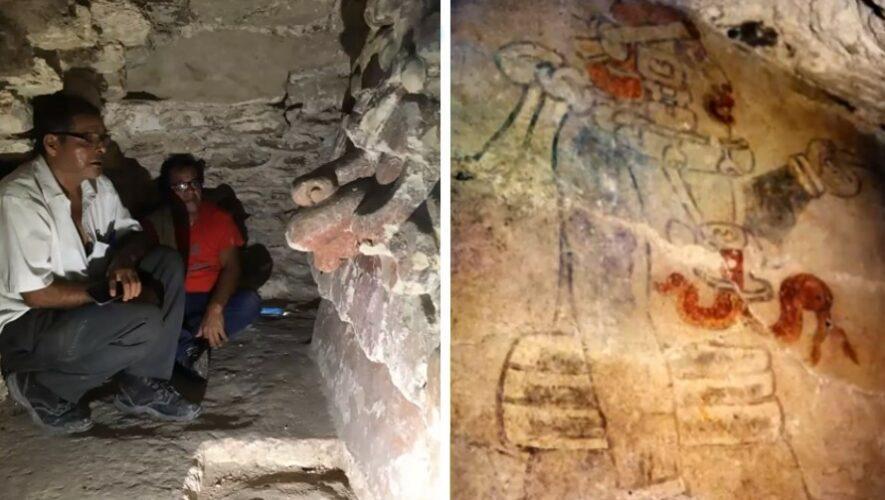 Presentaron nuevas interpretaciones de _Mural de los jugadores de pelota_ hallados en Tikal