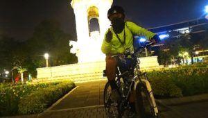 Recorrido en bicicleta nocturno para mujeres en la Ciudad de Guatemala | Mayo 2021