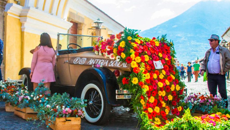 Retrospectiva en Flores, exposición dedicada al Festival de las Flores de Antigua | Mayo 2021