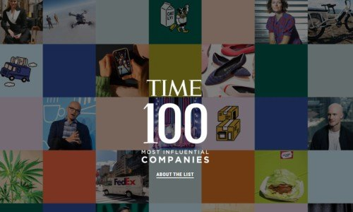 Revista TIME_ Las 100 empresas más influyentes, 2021