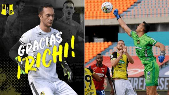 Ricardo Jerez recibió emotiva despedida por parte del Alianza Petrolera de Colombia