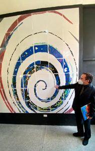 Se inauguraron nuevos murales en la Escuela Nacional de Artes Plásticas-