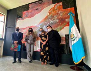 Se inauguraron nuevos murales en la Escuela Nacional de Artes Plásticas_