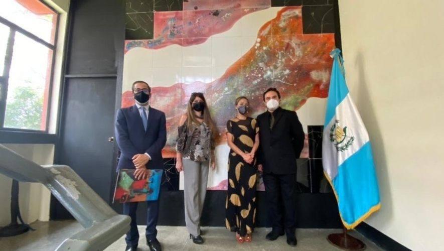 Se inauguró nuevo mural en la Escuela Nacional de Artes Plásticas