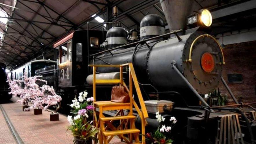 Tours guiados en el Museo del Ferrocarril, Guatemala   Mayo 2021