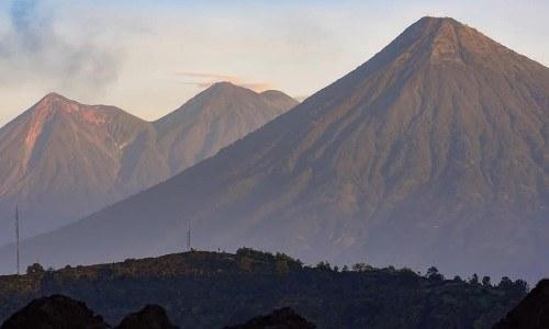 cindy lorenzo volcanes de Guatemala