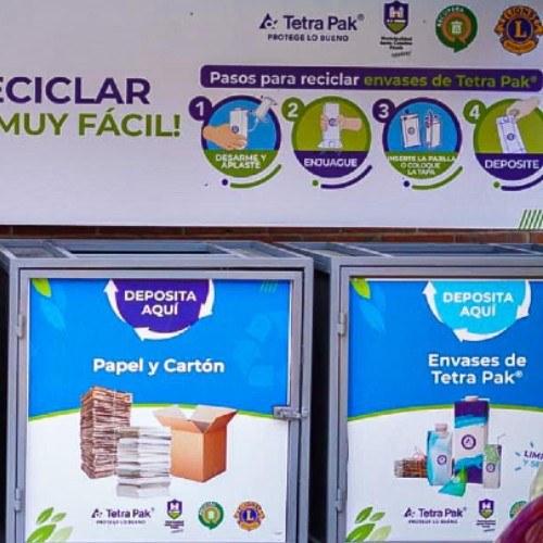 estación de reciclaje Santa Catarina Pinula
