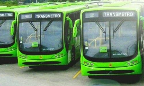 líneas del Transmetro en la Ciudad de Guatemala