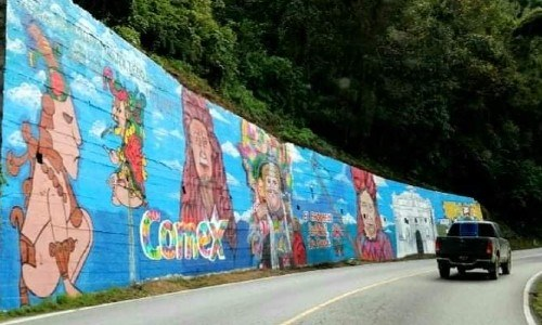 mural chichicastenango, colectivo unidos por el arte, guatemala,
