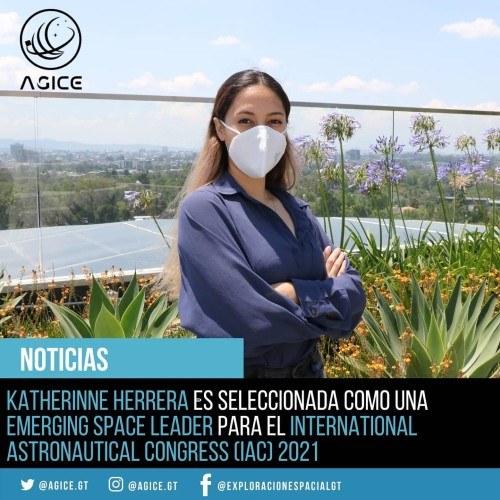presidenta de la asociación AGICE, Katherinne Herrera