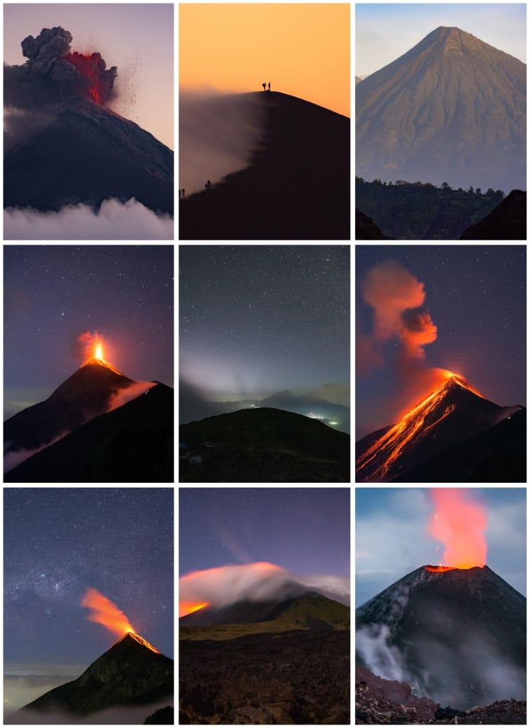 volcanes de guatemala cindy lorenzo