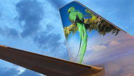 Aerolínea Frontier hará un homenaje al Quetzal, Ave Nacional, en uno de sus aviones