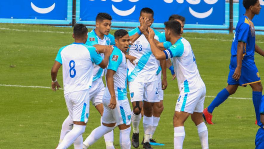 Alineación de Guatemala para el partido amistoso vs. El Salvador, junio 2021
