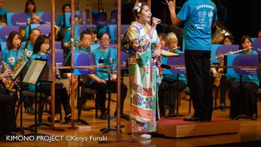 Ana Sofía Satoko, la guatemalteca en Japón que cantó el himno nacional luciendo un kimono
