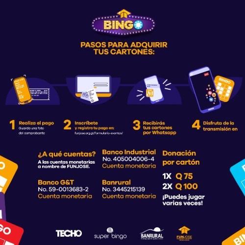 Bingo virtual en Guatemala junio 2021