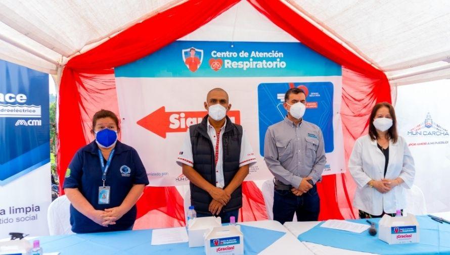 Habilitaron completamente el Centro de Atención Respiratorio de San Pedro Carchá, junio 2021