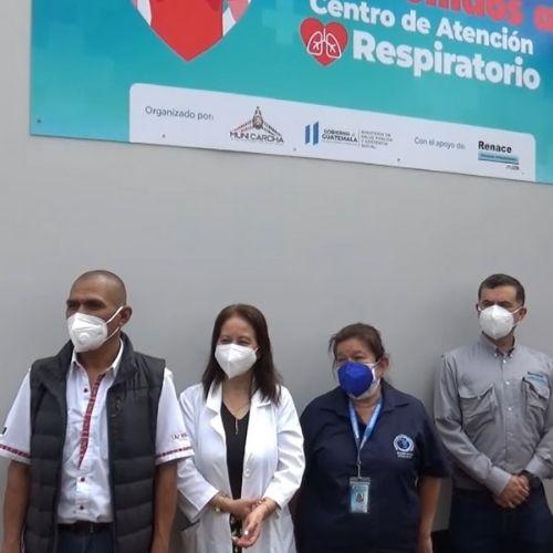 Centro de Atención Respiratorio en San Pedro Carcha Alta Verapaz