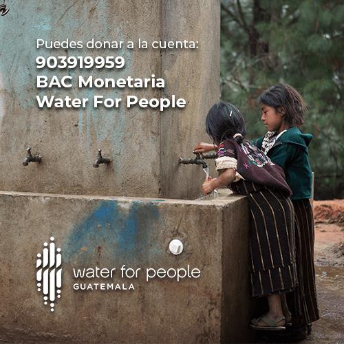 Cómo donar agua a través de Water For People