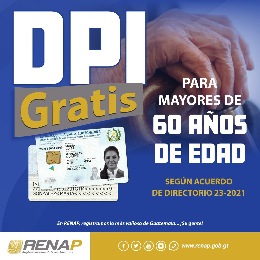 DPI gratis en guatemala