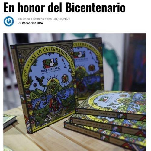 Diario de Centro América publicación Asi lo celebramos