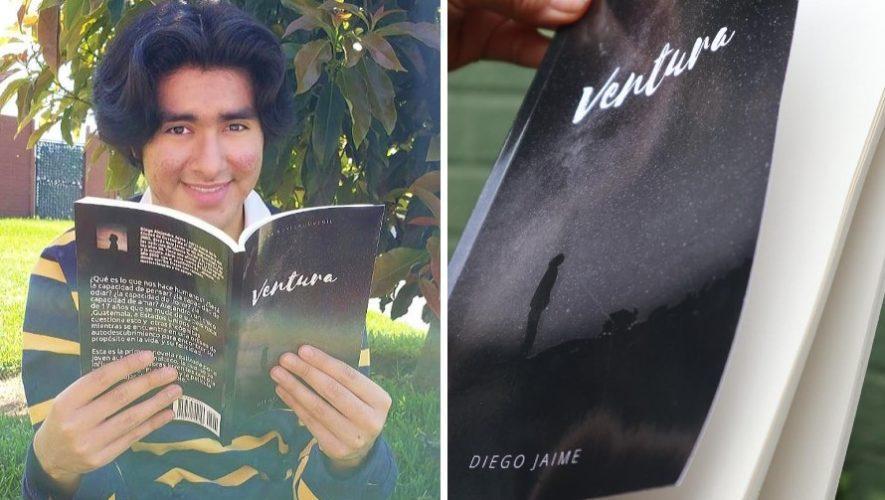 Diego Jaime, el joven guatemalteco que publicó su libro ventura inspirado en Tik Tok