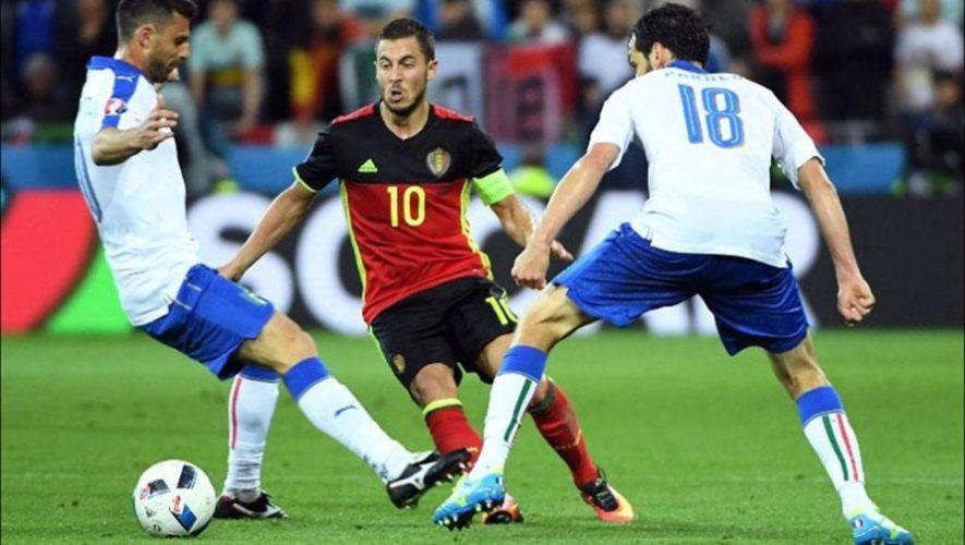 Fecha y hora en Guatemala para ver los cuartos de final Bélgica vs. Italia, Eurocopa 2021